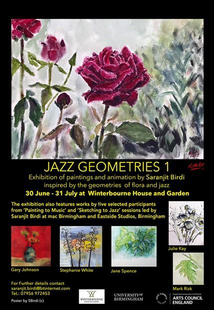 Jazz Geometries 1-Exhibition, Winterbourne House and garden