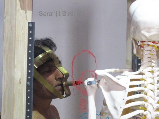 'Remembrance'- Mapping Bones 5 - Credit: Ram Samocha - edited Saranjit Birdi