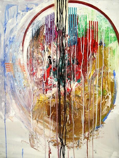 'dancing in the artist's head'