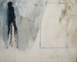 'not said...', by Alan Slater