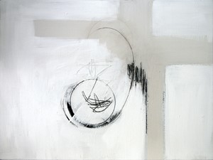 'large study [for a muted voice]', by Alan Slater
