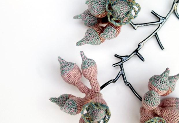 Plant Hunter Neckpiece - Credit: Joanne Haywood