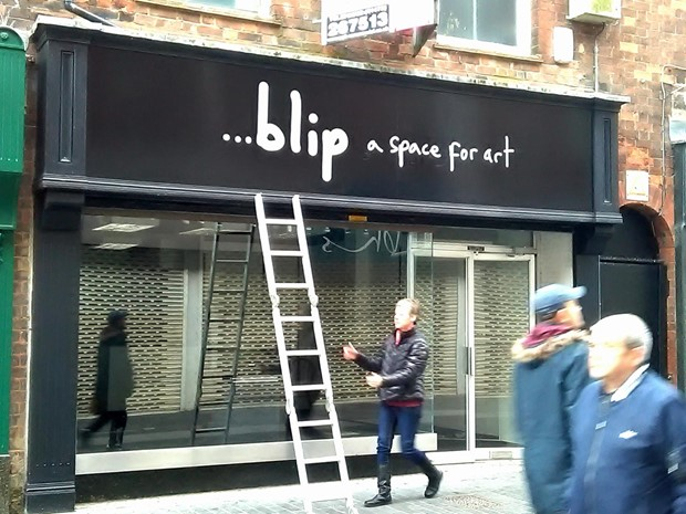 ...blip - a space for art