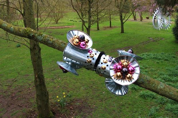 Otherworldy: Sculpture Exhibition at Burghley Sculpture Gardens (runs until 28.10.18)