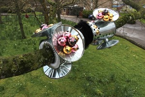 Millfield Sculpture Trail welcomes Buggles for Summer show, by Kirsty E Smith