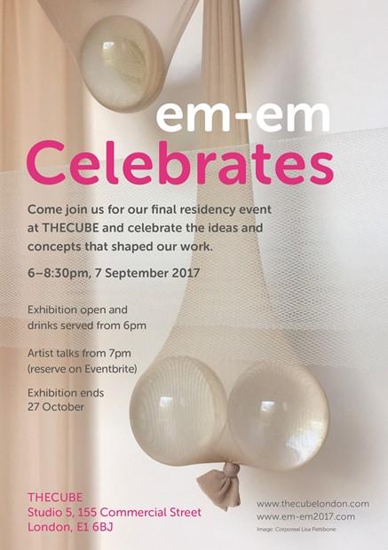 em-em-em Celebtates at THECUBE London