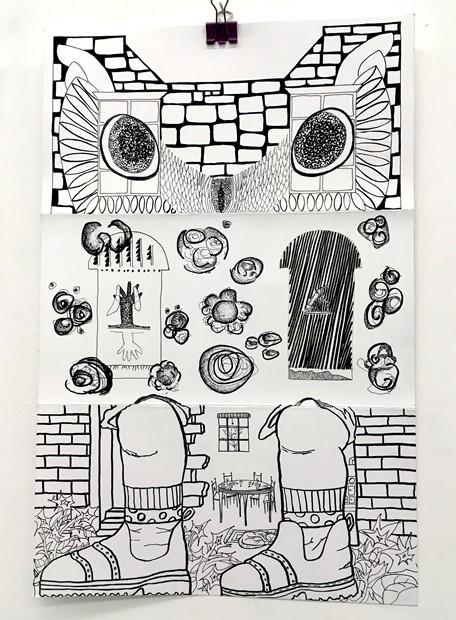 Surreal Estate - (series 2 - Georgian Mews House)
