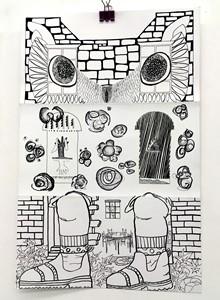 Real Estate - (series 2 - Georgian Mews House), by Tumim Prendergast