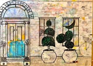 Details from no.1 Jackboot Terrace series 2,, by Tumim Prendergast