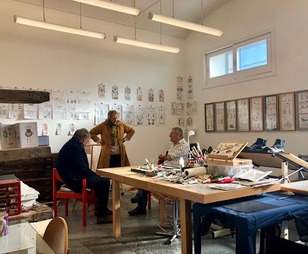 Angel Street 1-8 - WASPS open studios 2019