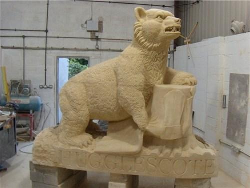 Hugglescote bear