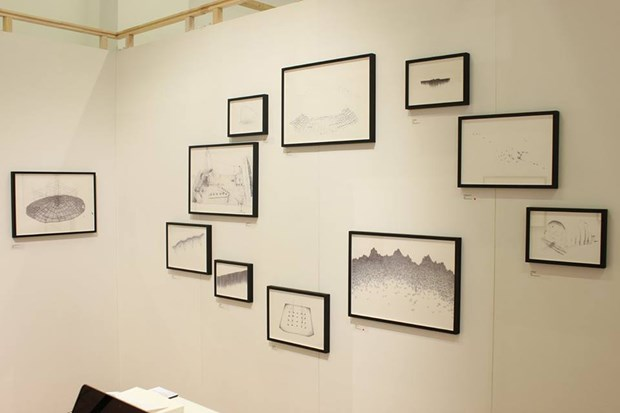 In Search Of The Shortcuts at Art On Paper, BOZAR, Brussels, 2016