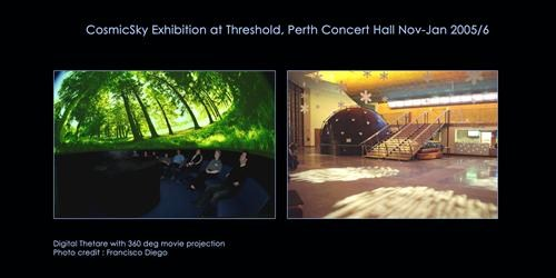 CosmicSky Exhibition at Perth Concert Hall