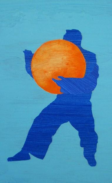 Final Blue Man
