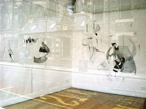 Black Matter, Totalkunst Gallery, Edinburgh, by Rosie Lesso