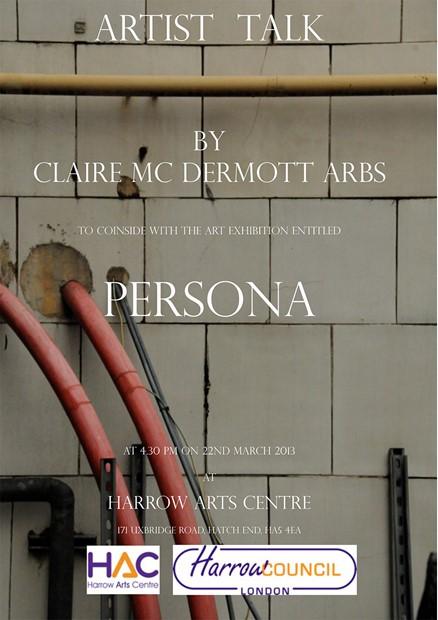 Artist Talk, by Claire Mc Dermott