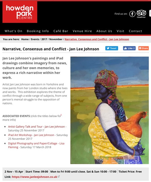 Narrative Consensus and Conflict, by Jan Lee Johnson