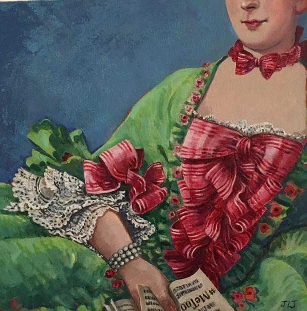 Madame De Pompadour Interrupted #metoo