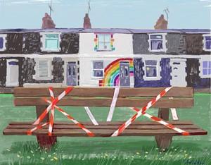 Rainbow street, by Jan lee Johnson