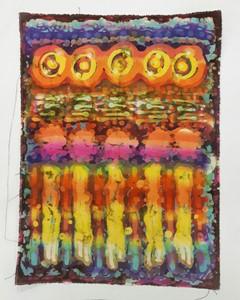 Five Souls Ascending (abduction) Depiction No. 1, by Mark Scott-Wood
