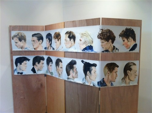 Cathy Lomax, The Sixteen Most Beautiful Men (in profile) , 2012
