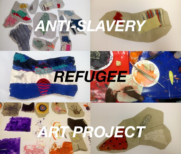 Anti-Slavery Refugee Art Project Fundraising Appeal