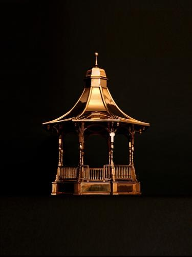 Brass Bandstand (scale model)