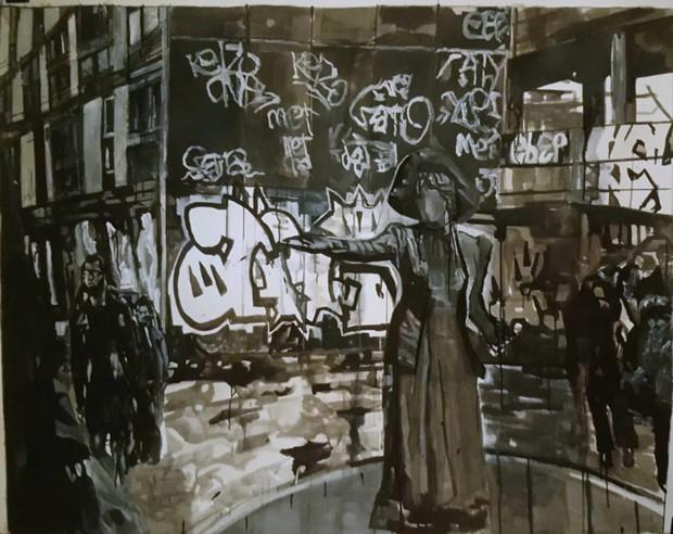 August Art Lab, by Alice Bradshaw