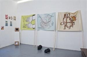 Installation View, Nowhere Gallery, by Simon Lewandowski