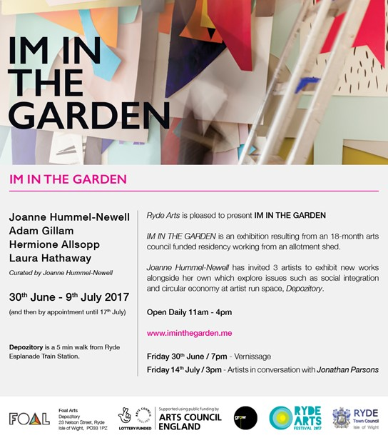 IM IN THE GARDEN, by Joanne Hummel-Newell