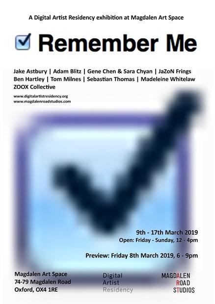 ? Remember Me, by Tom Milnes