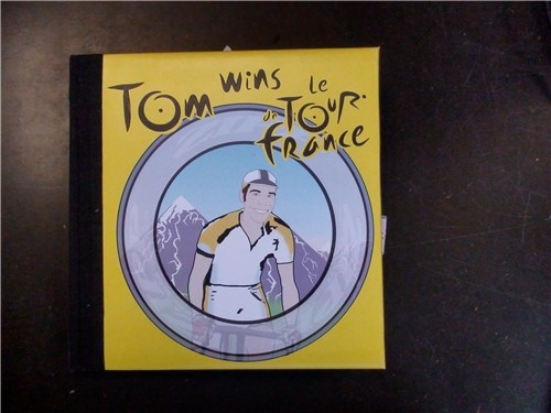 Tom wins le Tour de France