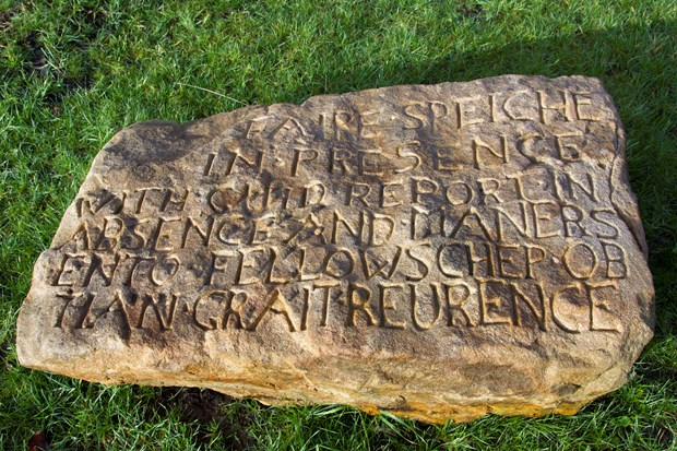 The Cuningar Stones: The Farme Castle Stone