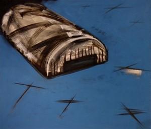 RAF BLUE HANGAR, by Alexander Johnson