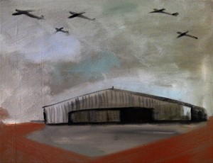 HANGER WITH SQUADRON, by Alexander Johnson