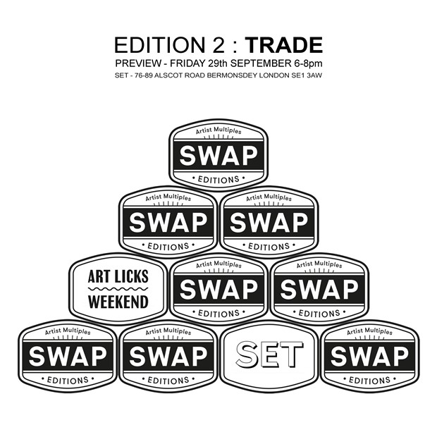 SWAP Editions : No 2 TRADE, by Robin Tarbet
