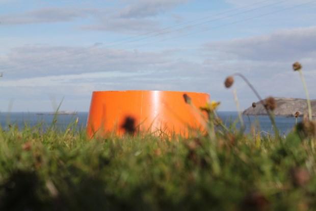 Orange Buckets
