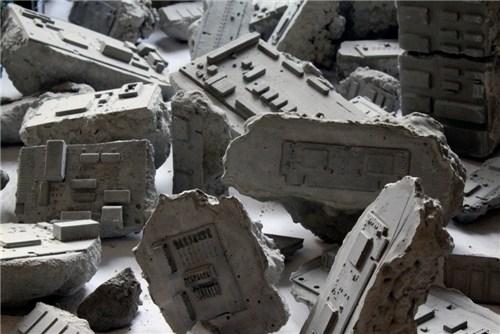 Robin Tarbet, Concrete Fossils, 2010