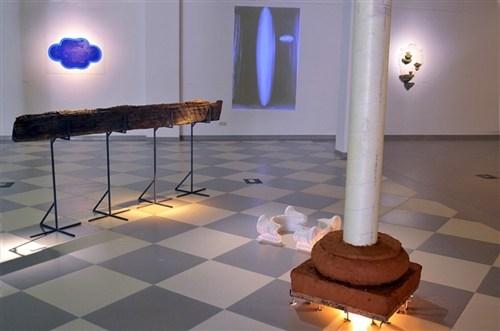 "Urszula Sliz, ""Palimpsest""Karkonoskie Museum, Jelenia Góra, Poland,        , 2012"