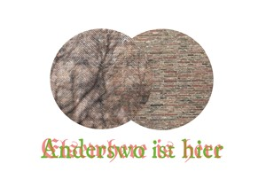 Elsewhere is here : Anderswo ist hier, by Ruth Piper
