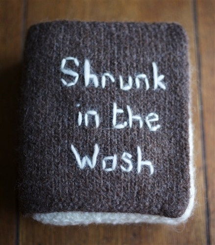 Shrunk in the wash.