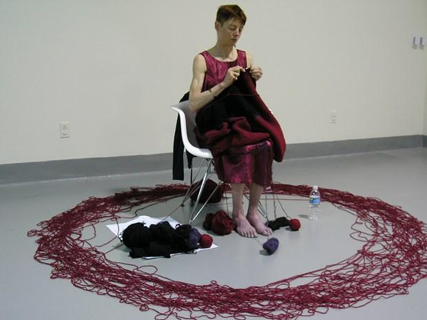 Knitting a Rothko