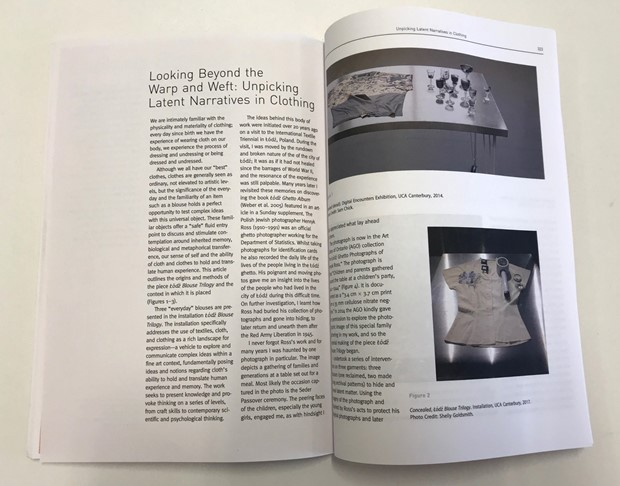 Lodz Blouse Trilogy Publication
