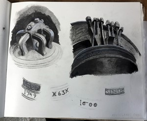 Sketchbook page 3, by Jane Stobart