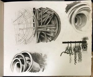 Sketchbook page 5, by Jane Stobart