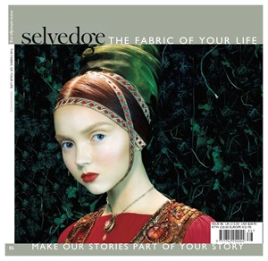 Featured in Selvedge, by Sue Stone