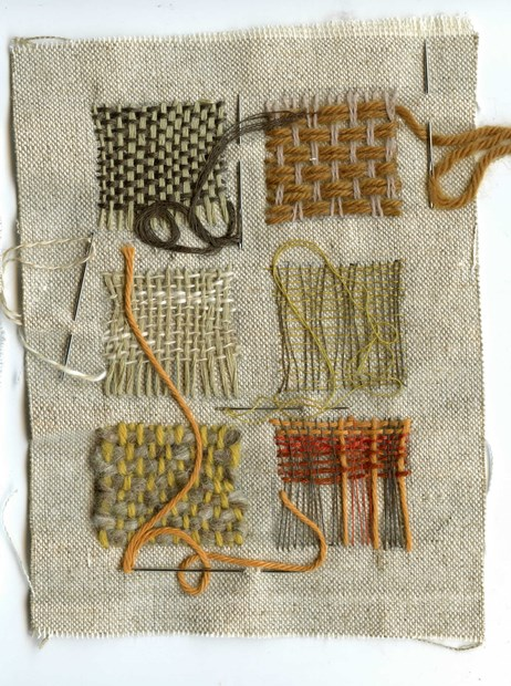 Exploring Texture and Pattern in Hand Stitch