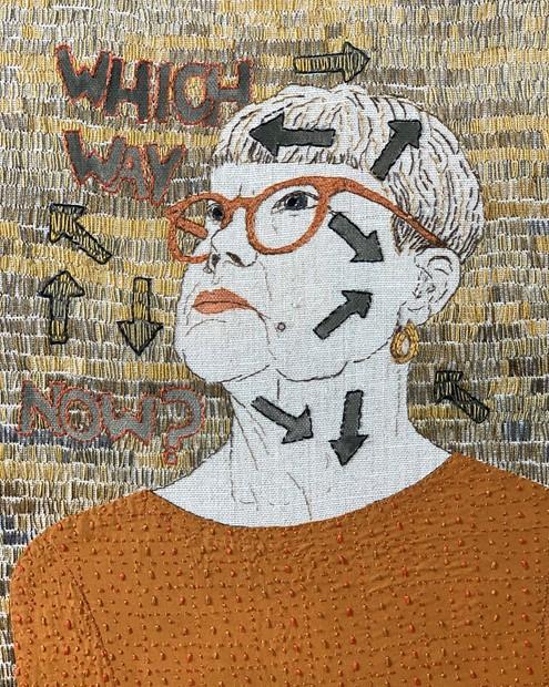 Self Portrait 67 - Credit: sue stone