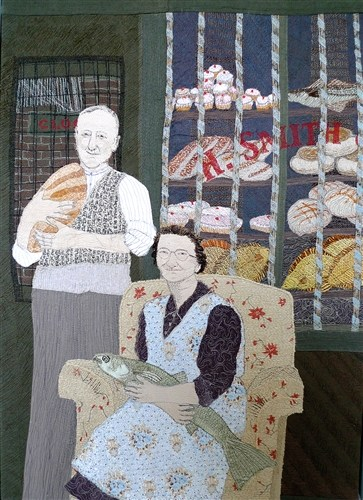 Sue Stone, Loaves and Fishes, 2010