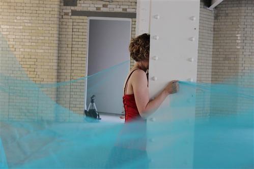 Angela Kennedy, Blue - Performance Installation, 2011